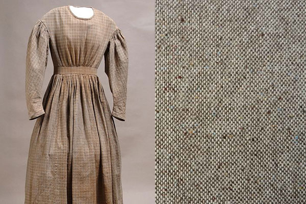 Платье и ткань гомескун