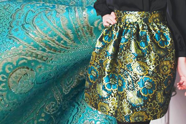 Парча – роскошная ткань для особых случаев