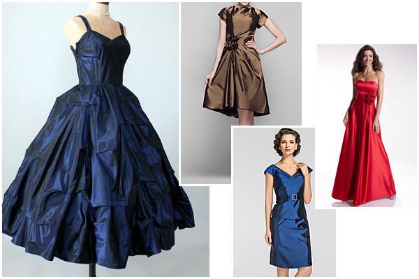 Шуршащие платья