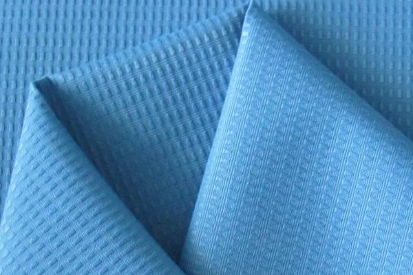Голубой материал