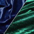 Синяя и зеленая ткань