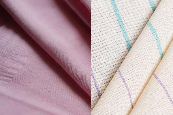 Разная ткань тик