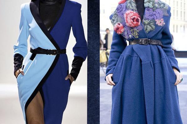 Модельные пальто из шерстяной ткани