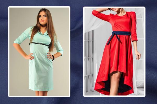 Платья из ткани с памятью
