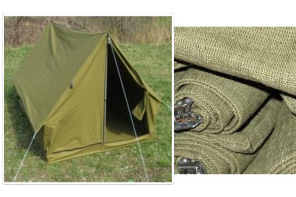 Палатка из плотной ткани