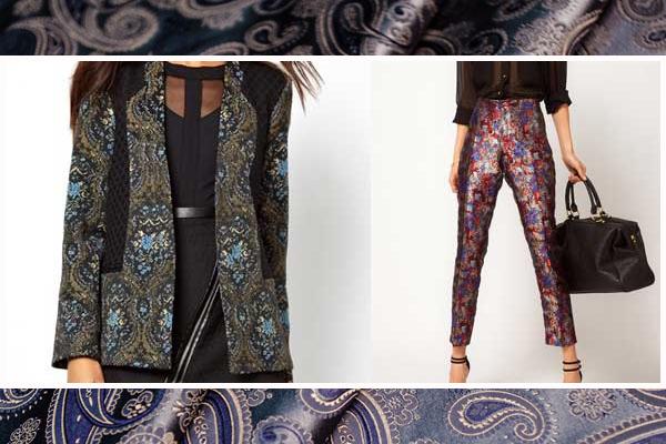 Одежда из жаккардовых материалов