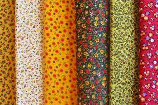 Разноцветная ткань