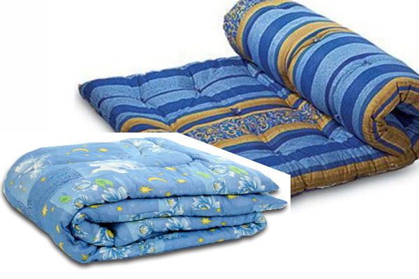 Ватиновые одеяла и матрас