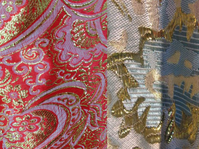 Происхождение и применение ткани брокат