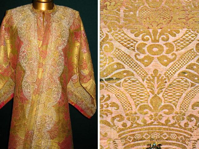 Ткань аксамит, необычный состав роскошного материала