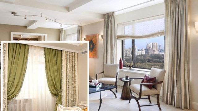 Выбор ткани для штор: стиль прежде всего