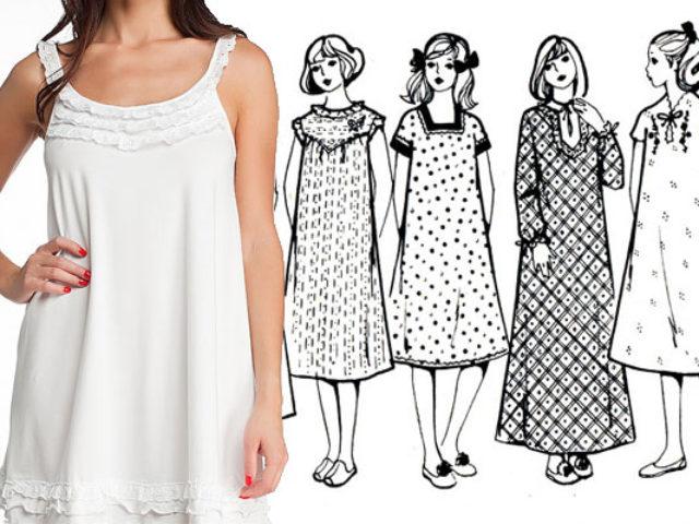 Ткань для ночной сорочки: соблазнение и комфорт
