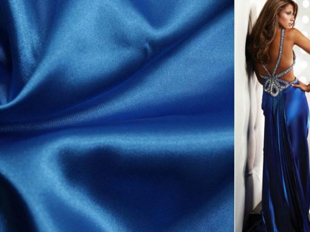 Стрейчевый атлас – современный вид старинной ткани