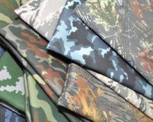 Ткань камуфляжной расцветки